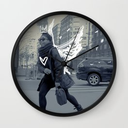 TASHA the NY ANGEL Wall Clock