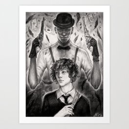 Jasper and Wylan Art Print