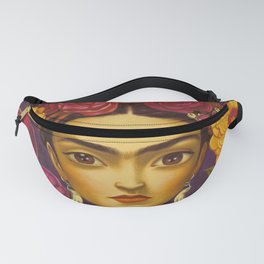 Frida Flowers Fanny Pack