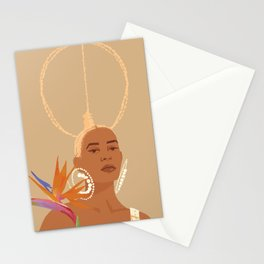 Don't Ever Touch My Hair Stationery Cards