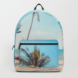 Surfboards on the Beach Backpack