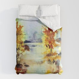 Autumn Arrangement Comforters