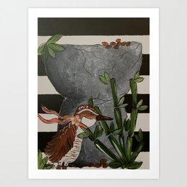 Koko Bird Art Print