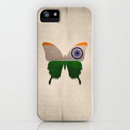 india butterfly iPhone Case