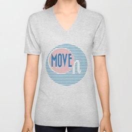 Move ON Unisex V-Neck