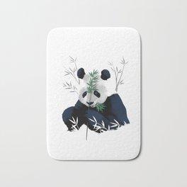 Panda Bamboo Bath Mat
