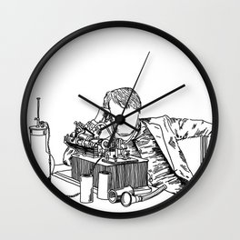 The Wizard of Menlo Park Wall Clock