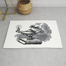 Magic lamp Rug