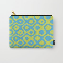 Brain Coral Yellow - Coral Reef Series 022 Carry-All Pouch
