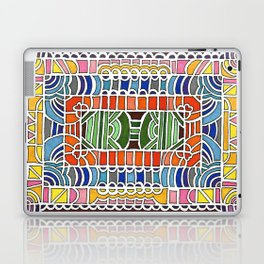 Geometric Drawing Meditation Laptop & iPad Skin