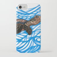 turtle iPhone & iPod Cases featuring Turtle by Lonica Photography & Poly Designs