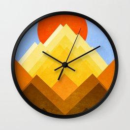 G Mountain Wall Clock