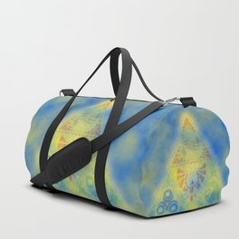 Abstract Triangle Duffle Bag
