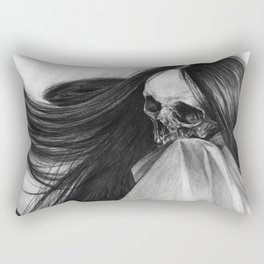 Incorporeal Void Rectangular Pillow