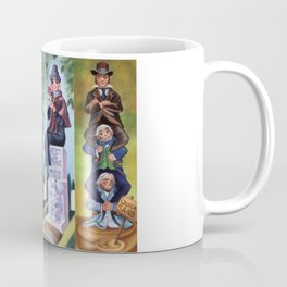 Disneyland Haunted Mansion Stretching Room Portraits Coffee Mug