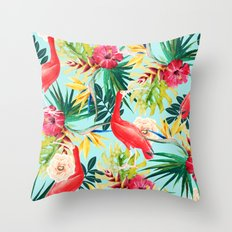 Hawaiian Vibe #society6 #decor #buyart Throw Pillow