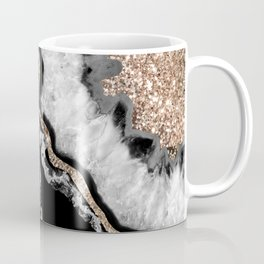 Yin Yang Agate Glitter Glam #8 #gem #decor #art #society6 Coffee Mug