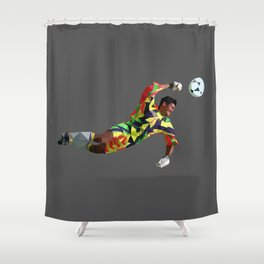 Brooody Shower Curtain