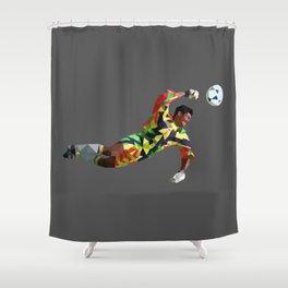 Brooody Shower Curtain