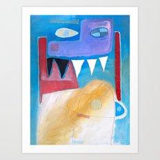 Amici Art Print