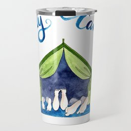 Family Camping Travel Mug