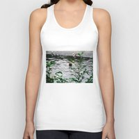 fishing Tank Tops featuring Fishing by Tayloroo