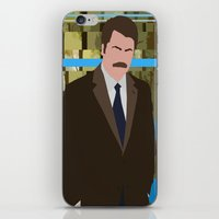 swanson iPhone & iPod Skins featuring The Swanson by sens