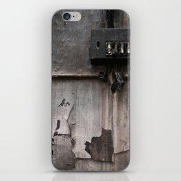 Black Wall Texture iPhone Skin