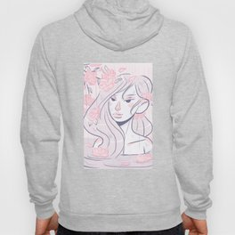 April showers bring Spring flowers Hoody
