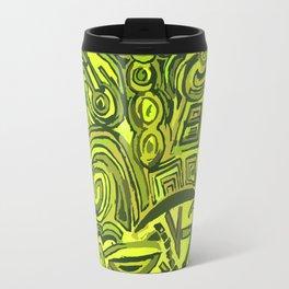 Green symbols Travel Mug