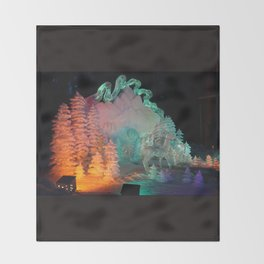 Aurora Dreams Throw Blanket