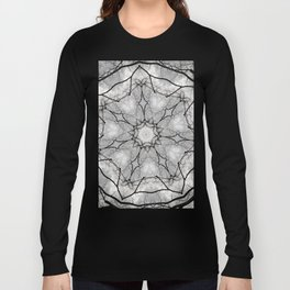 Maine Maple Mandala Long Sleeve T-shirt