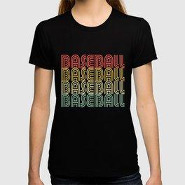 Baseball Vintage Design T-shirt
