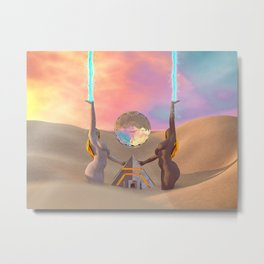Keepers Metal Print