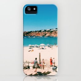 Beach Day in Mallorca iPhone Case