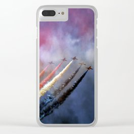 Painting the sky Clear iPhone Case