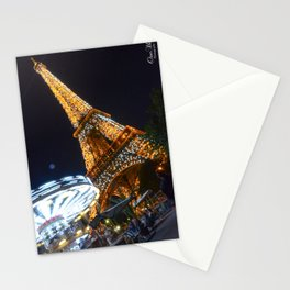 Overexposed   Eiffel Tower Stationery Cards