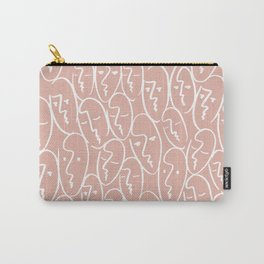 faces / pink Carry-All Pouch
