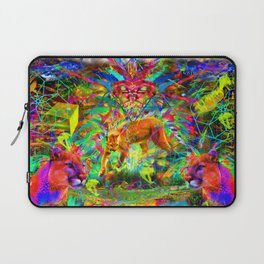 The Laser Focus of Couger Conciousness Laptop Sleeve
