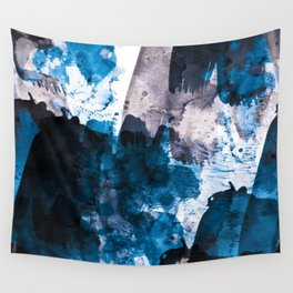 blue & mauve Wall Tapestry
