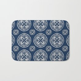 Shibori Cutlings Bath Mat