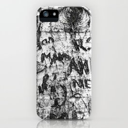 Love Messages on the Tree in Lover's Lane, Green Gables iPhone Case