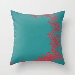 Bang canard Throw Pillow