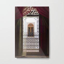 Bedroom Dreams | Morocco travel photography print |  Metal Print