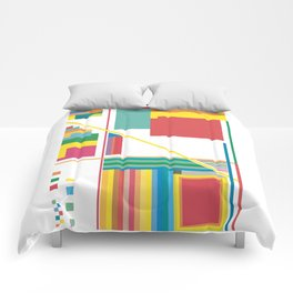 Collected Colors Comforters