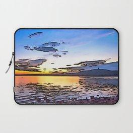 Scrabo Sunet, Ireland. (Painting) Laptop Sleeve