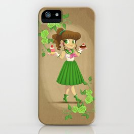 Retro Sailor Jupiter iPhone Case