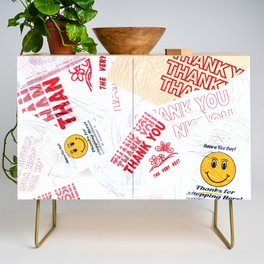 Thank You Take-Out Credenza