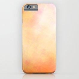 Orange lines iPhone Case