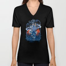 The Legend Continues Unisex V-Neck